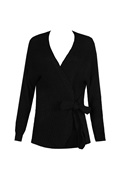 DM Black Cardigan - Ivanka