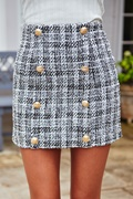 DM Tweed Skirt - Classic