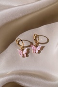 DM Butterfly Earrings - Blush
