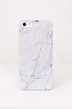 Marble iPhone Case - White