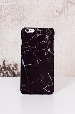 Stone iPhone Case - Black