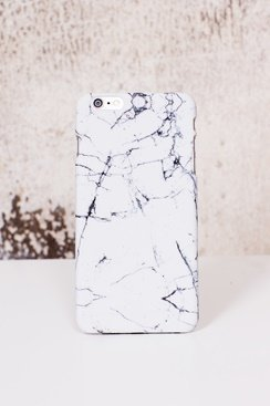 Stone iPhone Case - White