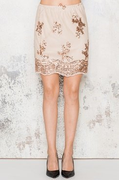 Amy Skirt - Gold