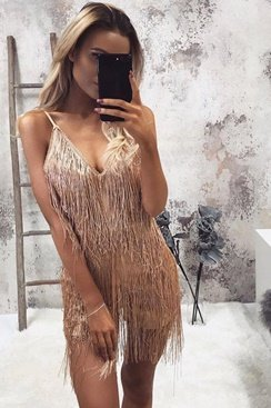 Bachata Playsuit - Gold