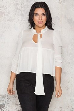 Barbados Blouse - White