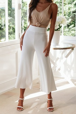 High-waisted wide-leg pants - Tati