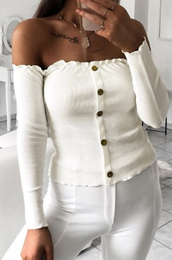 Bianca Top - White