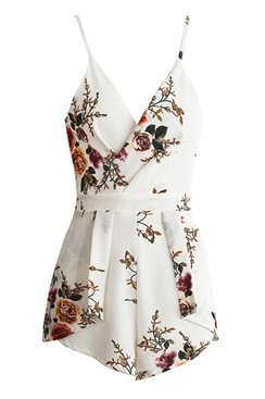 Blair Playsuit - White