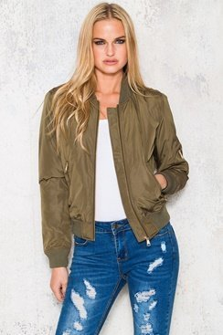 Bombastic Jacket - Army Green