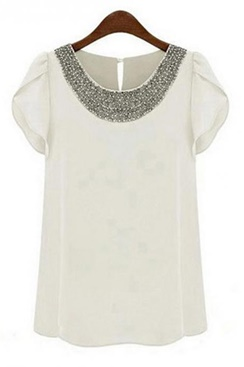 Casual Top - White