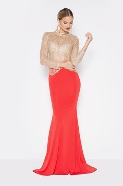 Coruna Dress - Red