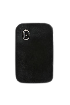 Cozy Fur Case - Black