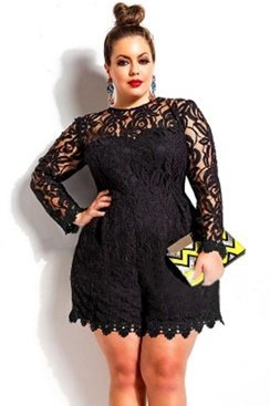 Cora Lace Playsuit