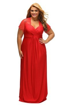 Fiona Maxi Dress - Red