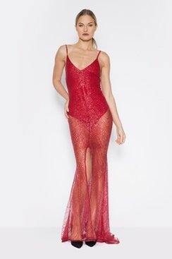 Dare Maxi Dress - Red