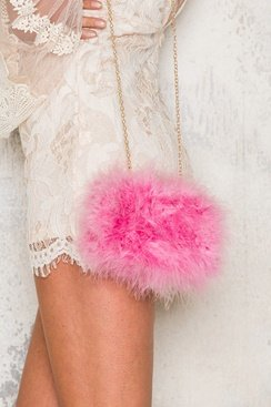 Dream Clutch - Pink