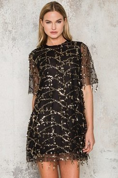 Electric Sequin Dress
