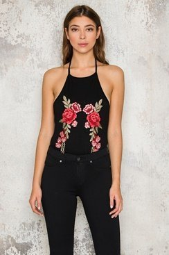 Rose Embroidery Body