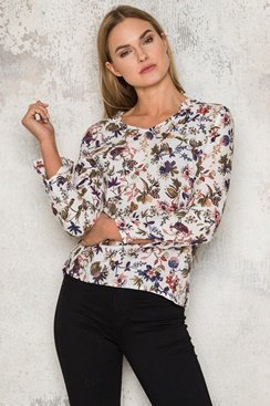 Emma Blouse - White