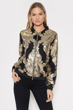 Royal Sequin Jacket