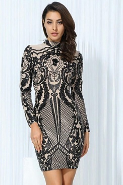 Sequin Dress - Ariya