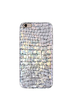 Platinum Croc iPhone Case