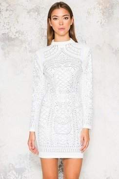 Gigi Dress - White