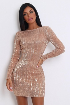 Ibiza Sequin Dress