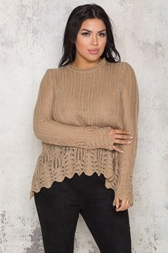 Jocelyn Sweater - Brown