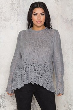 Jocelyn Sweater - Grey