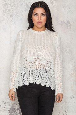 Jocelyn Sweater - White