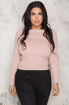 Katy Sweater - Pink