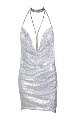 Kendall Dress- Platinum