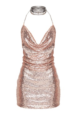 Kendall Dress- Rose Gold