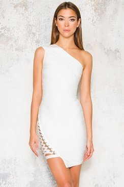 Lana Dress - White