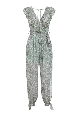 watch f5983 f1fad Pantsuit with pattern - Amina