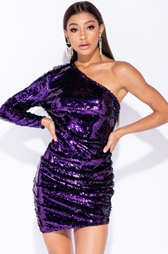 Lily Sequin Dress