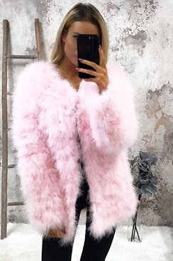 Long Dream Jacket - Pink