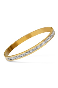 Classic Crystal Bracelet - Gold