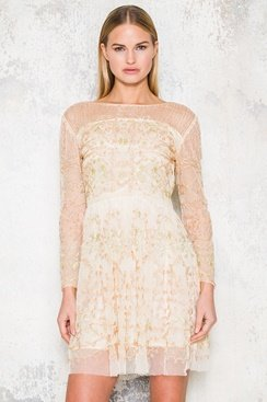 Mandy Dress - Creme