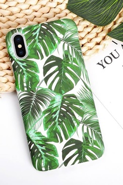 Fashion Case for iPhone - Palm Leaves
