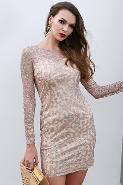 Notre Dame Dress - Rose Gold