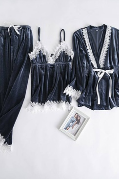 Pajamas Set - Blue