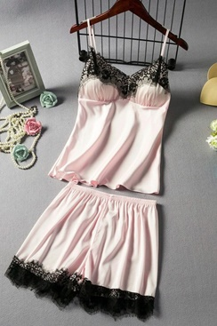 2 Piece Pajama Set - Pink Secret