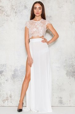 Bexley Maxi Set - White
