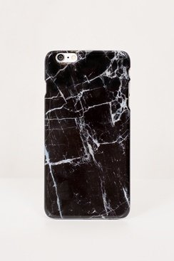 Marble iPhone Case - Black
