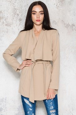 Revel Coat – Beige