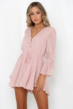 Pink playsuit - Mistress