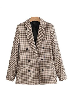 super popular 35d75 4dfdf Checkered Blazer - London