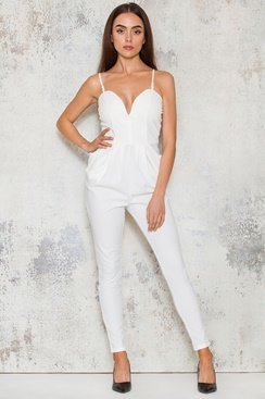 Sheri Jumpsuit - White